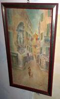 MADONNA DI SAVONA  vecchio dipinto a olio di Fava