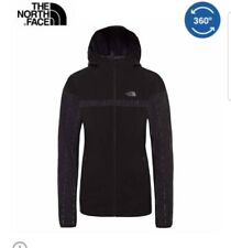 "The North Face women ambition rain jacket. Black chest 40"" size L.Waterproof."