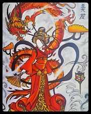 Gothic / Oriental Painting - the Dragon within: original art work hand painted