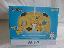 Pokemon Pikachu Battle Pad for Nintendo Wii U - Sealed