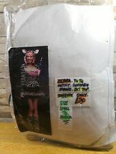 SEXY ZEBRA TUTU FANCY DRESS COSTUME SIZE 8 - 12 BRAND NEW IN PACKET