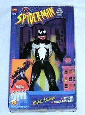 "VENOM Deluxe Edition Spider-Man Animated Series 10"" Figure Marvel ToyBiz 1994"