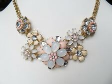 NEW TALBOTS FLOWER  NECKLACE 18-21""