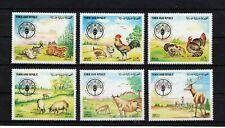 YEMEN ARAB REPUBLIC – 1982 FAO, MNH-VF - Michel 1669-74
