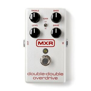 MXR DOUBLE-DOUBLE OVERDRIVE M250 NEW! FREE SHIPPING!