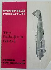 USA SELLER Rare Profile Publications Aircraft Magazine #70 Nakajima Ki-84