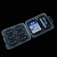1 Piece Memory Card & 8 Slots Storage Case Holder for SD SDHC MMC Micro SD Cards