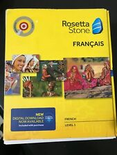 Brand New Rosetta Stone French Level 1 Version 4