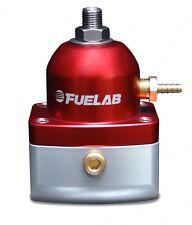 Fuelab Fuel Pressure Regulator adjustable FPR -10 in out Fuel Lab Red 51501