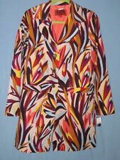 NWT: MISSONI for TARGET Multicolor Floral Trench Coat, Small