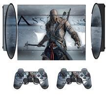 Assassins 211B Skin Sticker PS3 PlayStation 3 Super Slim and 2 controller skins