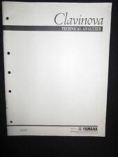 Yamaha Clavinova Technical Analyzer Service Manual DEALER CPU1 CPU2 MIDI LED ROM