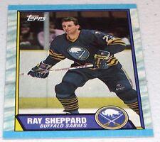 60x 1989-90 Topps Hockey #119 Ray Sheppard BV $30