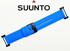 Suunto Core  ORIGINAL watch band strap BLUE Rubber with attachment  2 pins.