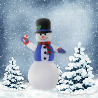 5.3Ft Airblown Inflatable Christmas Xmas Snowman Decor Lighted Lawn Yard Outdoor