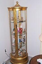 Contemporary   Round Curio Cabinet