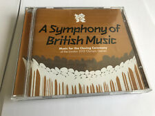 A Symphony Of British Music 2012 Olympic Games 2 CD Queen Bowie MINT/EX