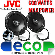 "Vauxhall Zafira B 06-11 JVC 17cm 6.5"" 600 Watts 2 Way Front Door Car Speakers"