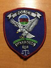 PATCH POLICE CARRBORO NORTH CAROLINA
