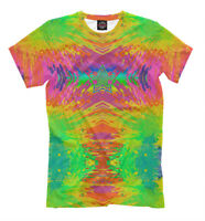 blast of colors t-shirt - all over printed tee rainbow style