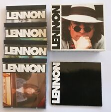 LENNON 4CD Boxed Set with Book Excellent Condition The Beatles Music Songs