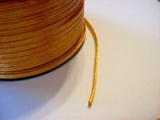 LOT OF 3 FEET CLEAR GOLD PLASTIC COVERED LAMP CORD 18/2 SPT-1 NEW 46605JB