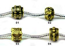 Copper Beauty Costume Charms & Charm Bracelets