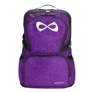 Nfinity Cheer Backpack Purple Sparkle