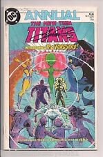 New Teen Titans Annual #1 Signed by George Perez 1st App of the Vanguard W/COA