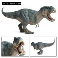 Rexy Tyrannosaurus Rex Statue Trex Dinosaur Model Collector Decor Toy Gift W3X0