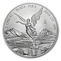 2018 Mexico 5 oz Silver Libertad BU - SKU#162409