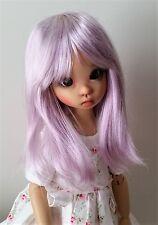 Monique Misty wig 8/9 for BJD EID 1/3 MSD DZ DOD Wiggs Luts Wiggs Lt. Purple