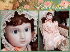 "Vintage Bisque Face & Composition Body Artist J STEINER PARIS Signed 30"" Doll"