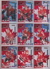 1995-96 Donruss Canada World Junior Team Insert Set of 22