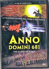 ANNO DOMINI 681  THE GLORY OF KHAN dvd nuovo incellofanato 2011 CINEMA&CINEMA