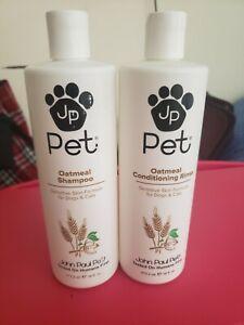John Paul pet oatmeal shampoo & conditioner 16 oz ea free shipping