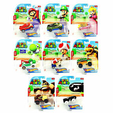 Hot Wheels Super Mario Character Cars *Choose Your Favourite*