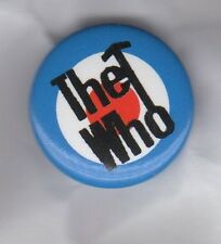 THE WHO Mod Target  BUTTON BADGE  English Rock Band -Tommy, My Generation 25mm