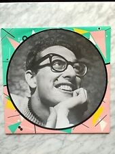 "Buddy Holly Love me Peggy Sue Picture Disc 12"" LP DENMARK Imp 1983 RARE OOP HTF"