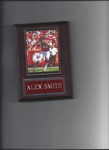 ALEX SMITH PLAQUE KANSAS CITY CHIEFS KC FOOTBALL NFL