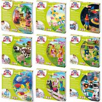 Staedtler Fimo Modelling Kits for Children - Modelling Clay, Ideal Fun Gifts