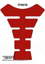 GSXR YZF ZXR CBR Tankpad Plain Basic Red Motorcycle Tank Pad Gel Protector