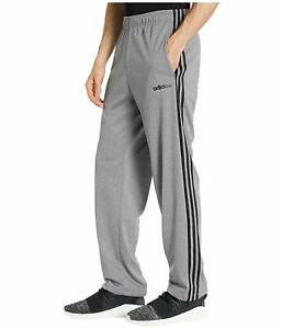 adidas Essentials 3-Stripes Gray Tricot Pants 85921 Men's Tall Size XXL