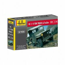 Heller 1/35 JEEP WILLYS & Remolque # 81105