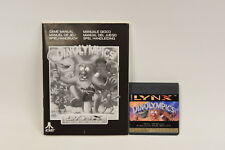 Dinolympics - Atari Lynx Game with manual