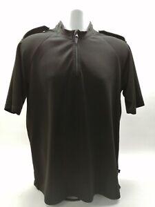 Ex Police Black Moisture Wicking T-Shirt Uniform Patrol Cycling Outdoor Sports