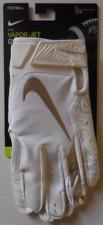 Nike Unisex Opening Vapor Jet 5.0 Football Gloves White/Cool Grey/M. Silver - L