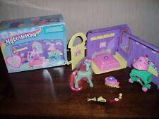 Vintage My Little Pony Ivys beauty parlour Ponies, Childrens toys hasbro 1998