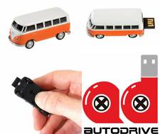 AutoDrive, VW Bus T1 Orange, 8 GB USB Memory Stick Flash Pen Drive