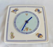 Wedgwood Peter Rabbit Wall Clock - Not working! Frederick Warne and Co